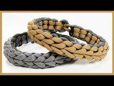 """Paracord Bracelet """"Endearment Bar"""" Bracelet Design Quick Cut - YouTube"""