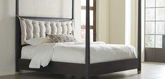 Palmer Canopy Mink Bed | Brownstone Furniture