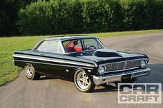 Mike Shahan's 1965 Ford Falcon had three amazing racing seasons by the time he bought it, but he wanted it to look as good as it ran and gave it a makeover! 65 Ford Falcon, Ford Classic Cars, Classic Auto, Ford Fairlane, Car Ford, Ford Motor Company, American Muscle Cars, Hot Cars, Ford Mustang