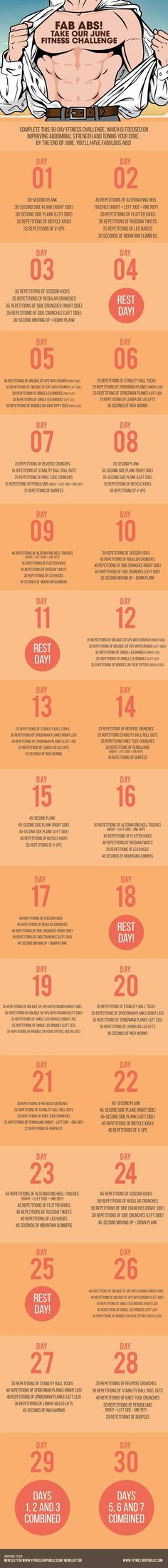 June Fitness Challenge