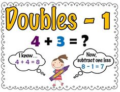 addition facts strategy practice doubles double 1 doubles 1 addition ...