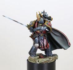 Warhammer Paint, Warhammer Models, Warhammer 40000, Legion Characters, Fantasy Samurai, Dark Angels 40k, 40k Armies, Lion, Grey Knights