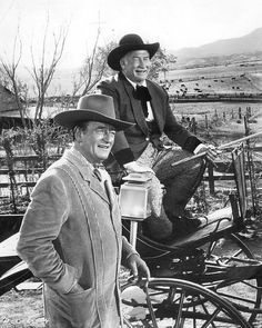 McLintock! - John Wayne & Chill Wills