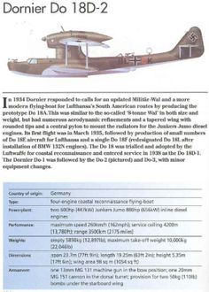 Reccemaritime on German Aircraft of WWII