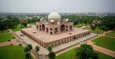 Humayun's Tomb in Delhi is considered to be the precursor of the 'Taj Mahal' as far as the architectural structure is concerned.