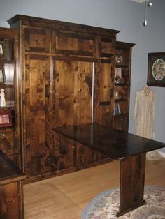 table murphy bed