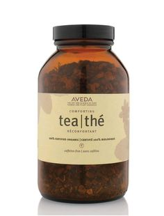 Enjoy Aveda Comforting Tea hot or iced. It's caffeine and sugar free so you can sip on it all day long. Licorice root and peppermint steep you in calm.