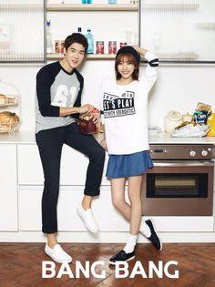 Yoo Yeon seok and Son Dambi for Bang Bang / 뱅뱅