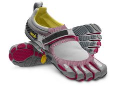 """#Vibram Five Finger Bikila minimalist #running #shoes.  Got a pair through a """"daily deals"""" website...can't recall which site now.  Will never run in them after the recent backlash, but I DO like to wear them around the house, to the grocery store, etc.  Comfy."""