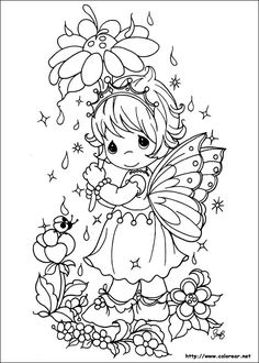 95 Precious Moments printable coloring pages for kids. Find on coloring-book thousands of coloring pages. Fairy Coloring Pages, Disney Coloring Pages, Printable Coloring Pages, Free Coloring, Adult Coloring Pages, Coloring Pages For Kids, Coloring Sheets, Coloring Books, Kids Colouring