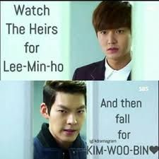 This very much happened to me... Who is Lee Min Ho? Haha
