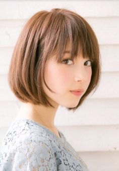 ドライブフォーガーデン(drive for garden) 【GARDEN/drive for garden】 スタイリング簡単愛されボブ☆ Girl Short Hair, Short Hair Cuts, Short Bob Hairstyles, Girl Hairstyles, Medium Hair Styles, Short Hair Styles, Japanese Hairstyle, About Hair, Hair Goals