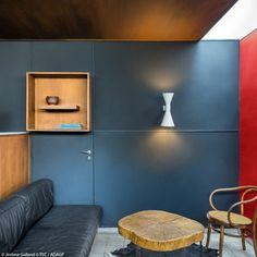 Un salon abstrait - Visite très privée de l'appartement-atelier parisien de Le…