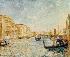 Pierre Auguste Renoir - Canal Grande in Venedig