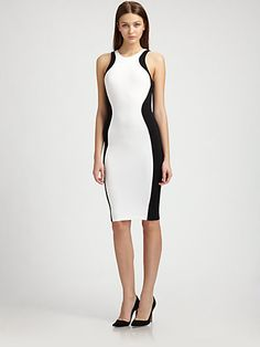 Torn - Shiran Mini Shadow Dress - Saks.com