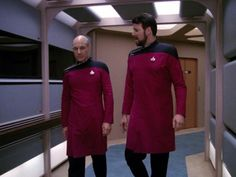 Picard and Riker...