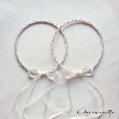 WEDDING   Chryssomally    Art & Fashion Designer - Uniquely handmade wedding crowns for a Valentine themed wedding