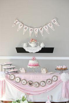 "Photo 18 of 20: Tea Party / Birthday ""Francesca's Tea Party""   Catch My Party"