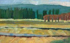 Conboy Wildlife Refuge Original Oil Painting by ElizabethSee, $70.00