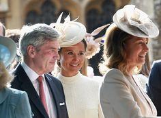 Carole, Michael & Pippa Middleton