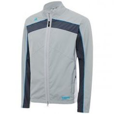 2015 Adidas Climaproof GORE-TEX Windstopper Full Zip Golf Jacket Clear Onix XL