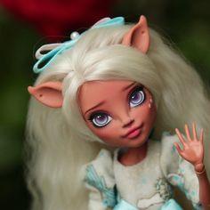 Ooak Monster high doll Isi monster high ooak monster high | Etsy Doll Head, Doll Face, Handmade Dresses, Handmade Clothes, Monster High Custom, Monster High Repaint, Amazing Decor, Garden Items, Custom Dolls