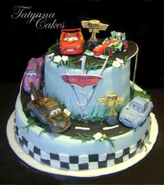 The Cars 2  cake - Cake by Tatyana Cakes