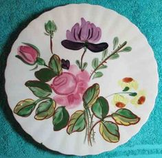 BLUE RIDGE POTTERY - JUNE BOUQUET - LUNCH PLATE 112714