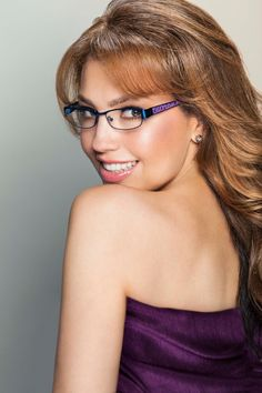 """""""Cipriana"""" frames - Thalia (@Lady T) Eyewear by Kenmark Optical"""