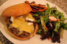 [Vegetarian] Mushroom Burger | The Diary of a Foodrunner
