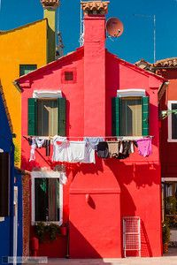 Love the watermelon colored exterior- Holiday Experience Airbnb by Francesco -Welcome and enjoy- frbrun Colourful Buildings, Beautiful Buildings, Beautiful Places, Clothes Line, House Painting, Architecture, House Colors, Exterior Design, Color Inspiration