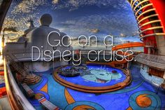 Some people think that the cruise doesn't have the same magical effect of being at a disney park, but it definitely does. The cruise brings families closer than ever and gives an experience non other can replace. You will meet tons of people and have a great time! So get out there and watch the sun set on the edge of the world with your family