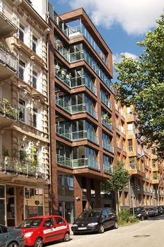 Haus Pauli, Hamburg Referenzen Fassaden-Projekte Klinkerwerk Hagemeister