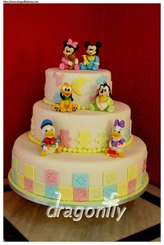 Baby Disney Cake - Bolo Baby Disney by Dragonfly Doces, via Flickr