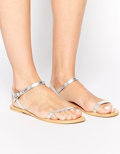 ASOS FATED Leather Sandals