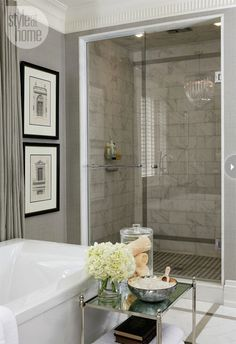 style at home bathrooms - Google Search
