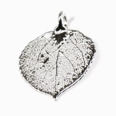 Aspen Leaf Pendant and Chain