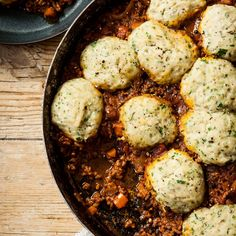 Mince and Herby Dumplings - Recipes - Hairy Bikers Ungroomed tresses can make you feel Beef Recipes Uk, Minced Beef Recipes, Cooking Recipes, Healthy Recipes, Tasty Meals, Vegetarian Cooking, Simple Recipes, Dumpling Recipe, Dumplings