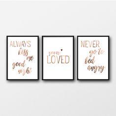 Foil Print, Copper foil print, gold foil, silver art, custom print, custom quotes, real foil prints, peppa penny, prints, posters, wall art, copper trend