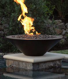 Geo Round Fire Pit