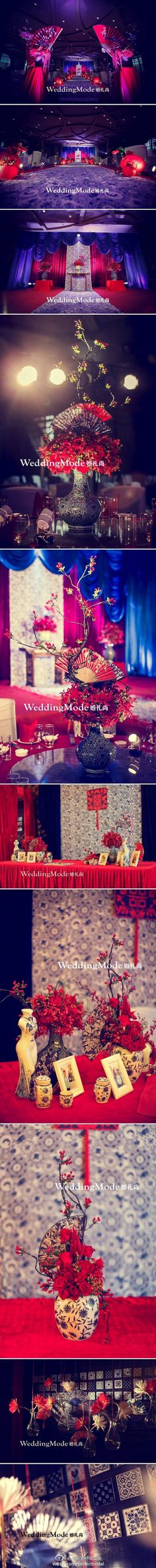 Oriental theme wedding