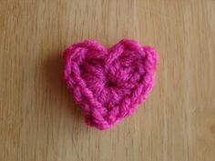 Fiber Flux...Adventures in Stitching: Free Crochet Pattern...One Round Hearts!