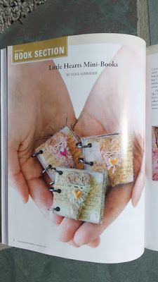 By Vickie Kammerer using Mini Book Kits from Retro Café Art Gallery. www.RetroCafeArt.com