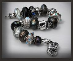 This one is simple and elegant.  Need I say more???Trollbeads  #TrollbeadsWorldTour
