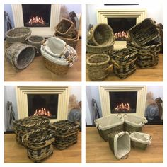 We have a wide range of Log Baskets in all shapes and sizes #logstore #logbasket #woodstore #fireplace #homeinspiration #renovation #characterhome Log Store, Character Home, Baskets, Range, Shapes, Inspiration, Accessories, Biblical Inspiration, Wood Store
