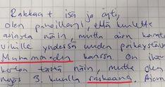 Isä löytää 16-vuotiaan tyttärensä jäähyväiskirjeen: Huomaa yllättävän yksityiskohdan viimeiseltä riviltä. Newsner tarjoaa uutisia, joilla todella on merkitystä! Karate, Math, Math Resources, Mathematics