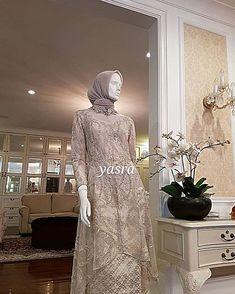 Image may contain: 1 person, standing and indoor Kebaya Modern Hijab, Model Kebaya Modern, Kebaya Hijab, Kebaya Muslim, Muslim Dress, Kebaya Brokat, Kebaya Wedding, Muslimah Wedding Dress, Muslim Wedding Dresses