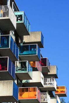 urban balcony, amsterdam #architecture