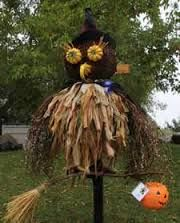 Image result for animal scarecrow