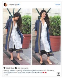 Sonam Bajwa surely knows what's trending! - Mijaaj